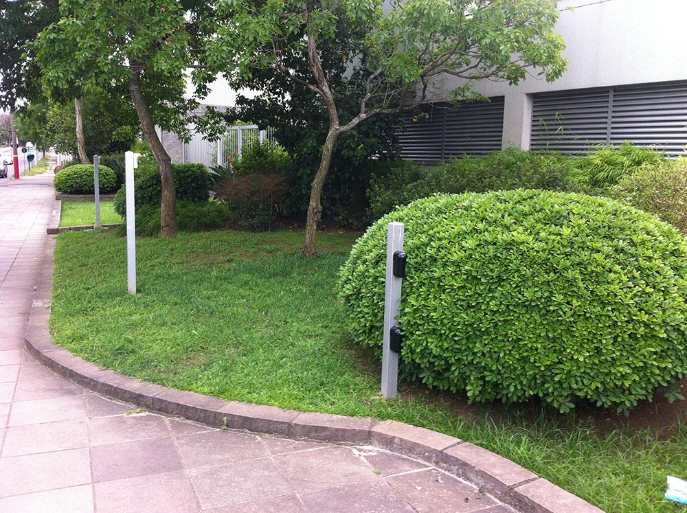 Sistemas de seguran�a perimetral implantados pela Cruz Engenharia.